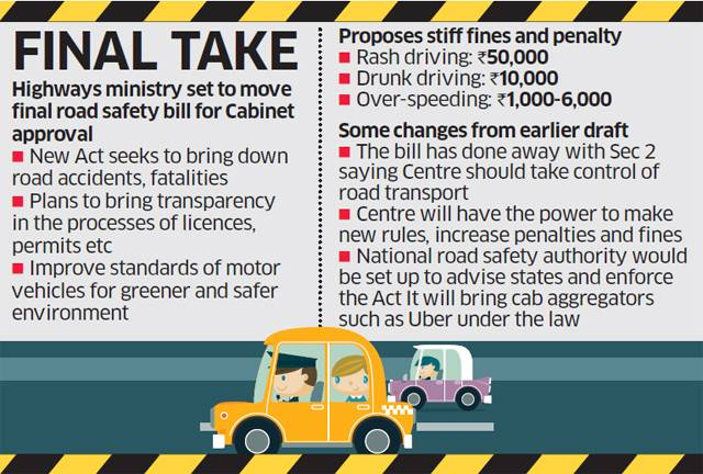 Road safety bill: States' power not diluted in final transport draft
