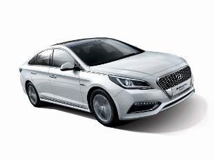New Hyundai Sonata Hybrid shown before Detroit debut