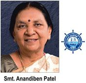 Anandhiben Patel, gracing the International Conference on Maritime Clusters in Gujarat