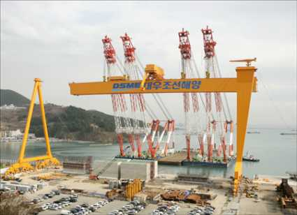 Daewoo Shipbuilding gets orders for three 18,000-19,000 TEU vessels