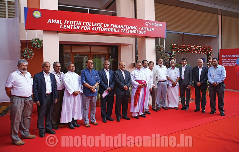 Amal Jyothi-Eicher Centre for Automobile Technology opened in Kottayam