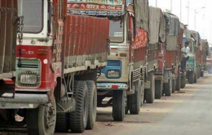 Truck freights for select centers rise on pick-up in cargo movements