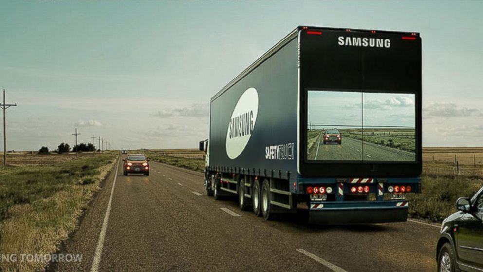 Samsungs Transparent Trucks: Clearly A New Reality