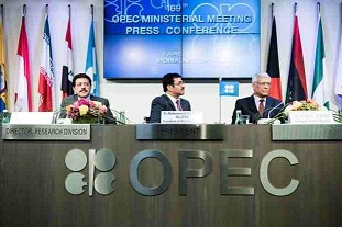 Oil prices lower as hopes dim for OPEC output cut