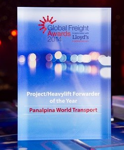 Panalpina receives top honors for air freight and heavylift forwarding