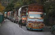 Pakistan impounds 50 Indian trucks, suspends LoC trade