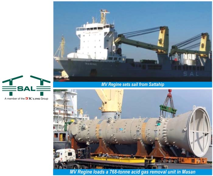 SAL Heavy Lift completes work for Ichthys LNG Project