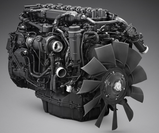 Scania's New 13-Liter Natural Gas Engine