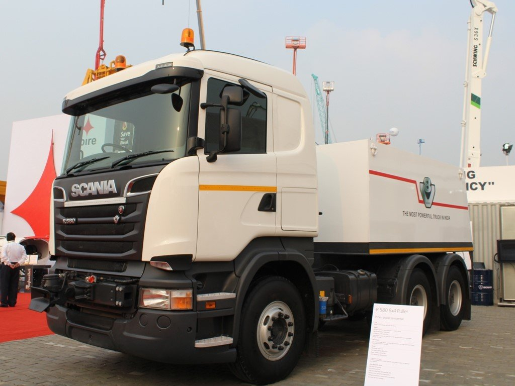 Scania R 580 64 is the first truck to be recognized as puller by ARAI
