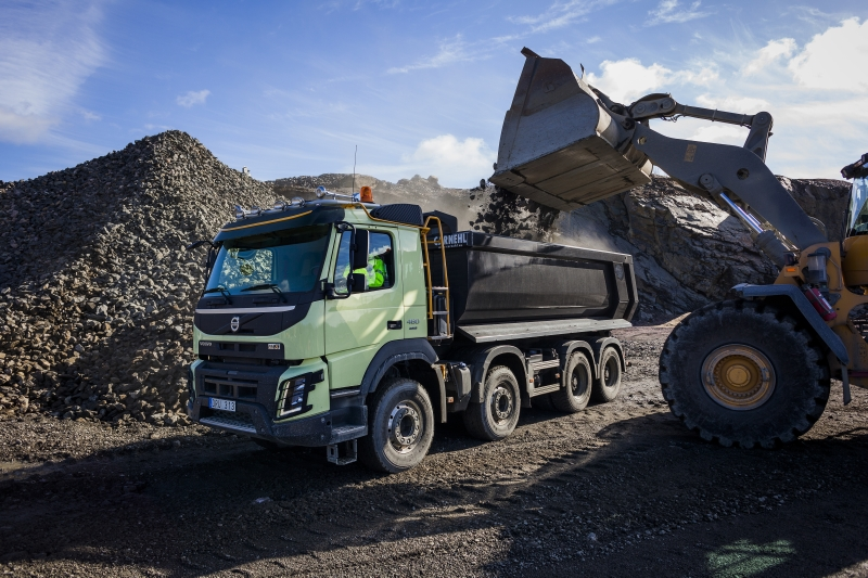 Volvo Trucks special attention to the construction segment