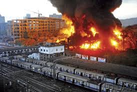 Fire at Mumbai Ceat tyre unit, train services affected