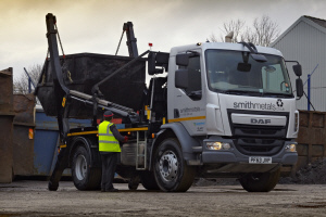 DAF LF Construction shows its mettle for recycling business