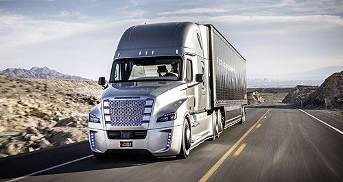 Daimler maps out autonomous trucks. Freightliner concept shows tech but it could be 10 years before it hits the road