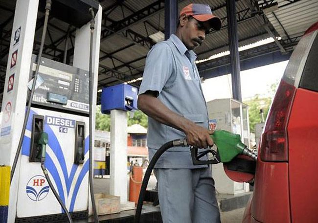 Tweet India Petrol price cut by 91 paise, diesel by 84 paise per litre