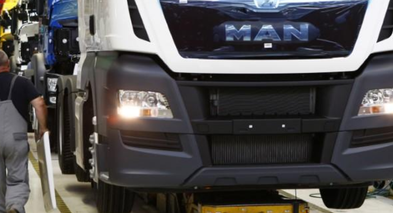 Volkswagen's truck brand MAN spends to upgrade plants