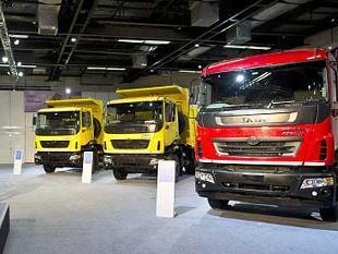 Tata Motors launches four \'Prima\' commercial vehicles in Nepal